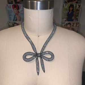 Betsey Johnson Bow Necklace